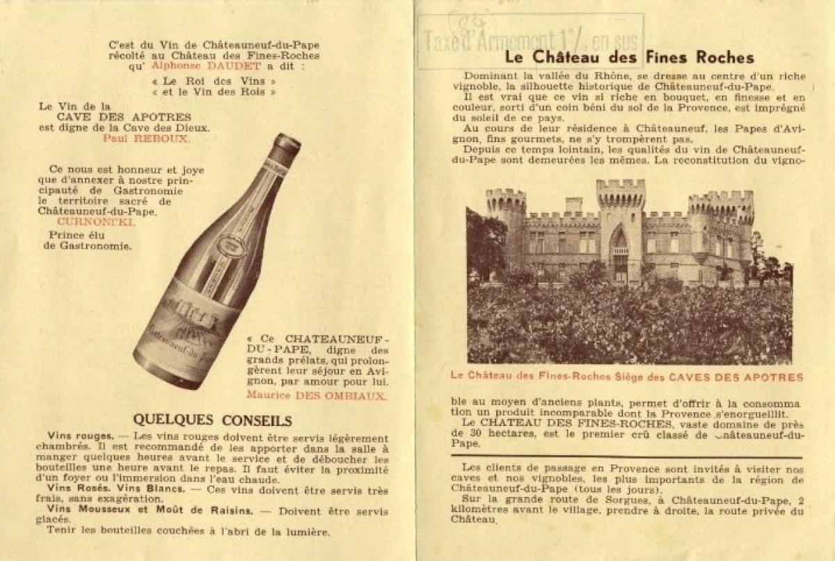 Le vin de Châteauneuf du Pape