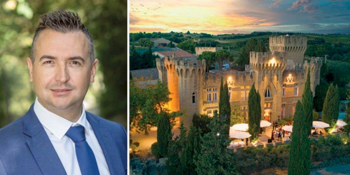 Châteauneuf-du-Pape : Denis Duchêne reprend l'Hostellerie du Château des Fines Roches