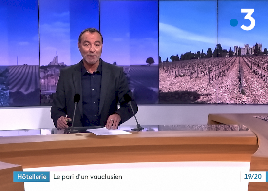 The Hostellerie des Fines Roches on France 3
